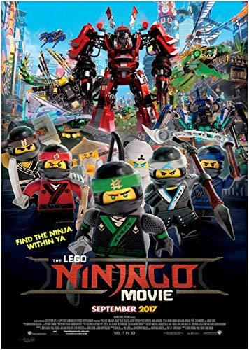 TTXD Puzzle 1000 Piezas Adultos,The Lego Ninjago,Rompecabezas de Madera, Juguetes intelectuales, desafiante Rompecabezas Informal para Adultos y Adolescentes 50x75cm