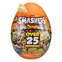 Over 25 surprises to slime, fizz and smash your way through! Collect and build one of 3 exclusive Smash-o-saurs! Use the official Scratch Map to find all of the hidden bones inside compounds like the Fizzy Lava Bomb. Smash open the NEW Smash Egg to f...