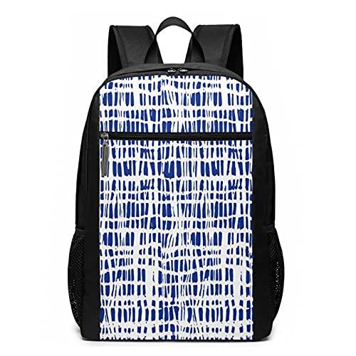 Schulrucksack Dekoratives Gewebe Wasser Traditionell, Schultaschen Teenager Rucksack Schultasche Schulrucksäcke Backpack für Damen Herren Junge Mädchen 15,6 Zoll Notebook