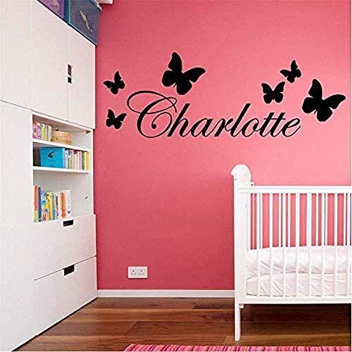 DIY Home creatieve moderne decoratie naam kwekerij muur Sticker keuken restaurant Vinyl Art Sticker Art Deco behang grootte 20 * 56Cm