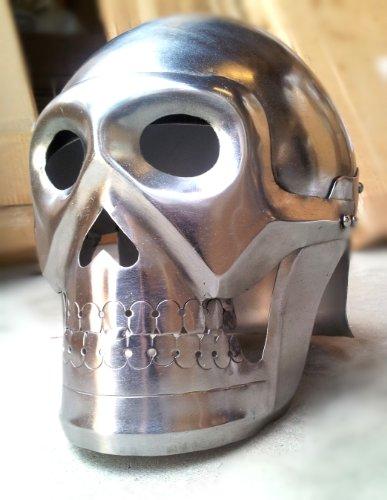 Skelett Schädel Rüstung Helm Kostüm Requisiten Kollektion Mittelalter Rüstung...