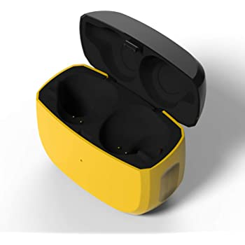 Amazon Com Replacement Charging Case Compatible With Jabra Elite Active 65t And Jabra Elite 65t Earbuds Protective Substitute Cover With Built In Battery Charger Case Only Earbuds Not Included Home Audio Theater