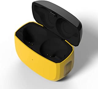 Replacement Charging Case Compatible with Jabra Elite Active 65t and Jabra Elite 65t, Earbuds Protective Substitute Cover with Built-in Battery(Charger Case Only, Earbuds not Included)