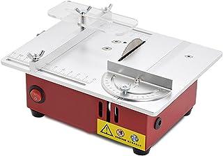 XFKL Mini-bordscirkelsåg, mikroprecisionsskärare, såghöjbar bordscirkelsåg 96 W 9200 varv/min, används för manuell skärnin...