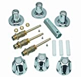 PROFESSIONAL FIT TUB/SHOWER STEM & HANDLE REPLACEMENT: The Danco Remodel kit is designed to revitalize and repair Pfister Verve 3-HandleTub and Shower faucets. COST EFFECTIVE SOLUTION: No need to replace the entire bathtub fixture, save money and wat...