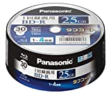 ブルーレイディスク 日本製 録画用4倍速 25GB(単層 一回録画用) 30枚パック LM-BRS25LT30
