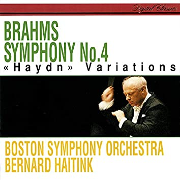 Brahms: Symphony No. 4; Variations On A Theme By Haydn