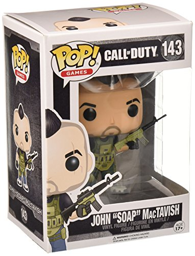 Funko 11849 POP Vinylfigur: Call of Duty: John 'Soap' Mactavish, Multi