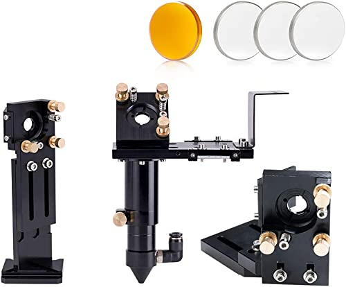2021 Cloudray E Series Head Set with 1 PCS China Focus Lens D20mm FL63.5mm and 3 PCS Mo Mirrors D25mm discount for Co2 high quality Laser Engraver Cutting Machine Parts (Set B) outlet online sale