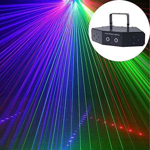 JSY Disco-Licht LED-Partei-Licht, Bühnenbeleuchtung Led-Ton aktiviertes Disco-Kugel-Licht mit Fernbedienung for Kids Festival-Geburtstags-Party Bar Bühnenlampen