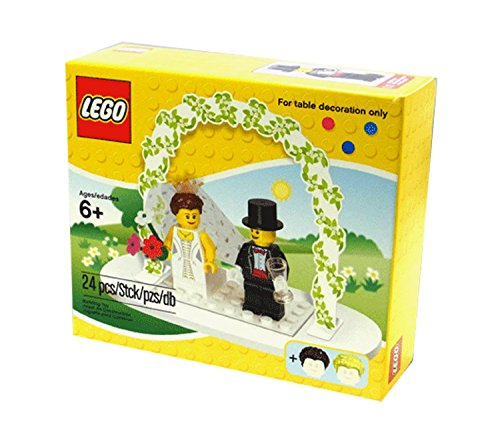 LEGO Mini Figure Set Wedding Bride Groom
