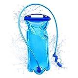 WLZP Trinkrucksack mit 2L BPA-freier Trinkblase, Ultraleicht Wasserdicht fahrradrucksack zum Skifahren Laufen Wandern Radfahren, Verstellbarer, gepolsterter Schultergurt an der Brust -