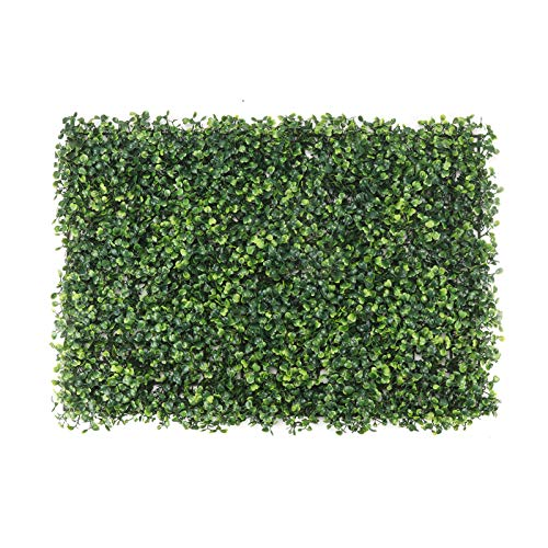 N/Y Artificial Ivy Hedge Screen 60x 40cm Green Wall Ivy Vine Screen Home Garden Décor