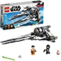 LEGO Star Wars Resistance Black Ace TIE Interceptor Building Kit