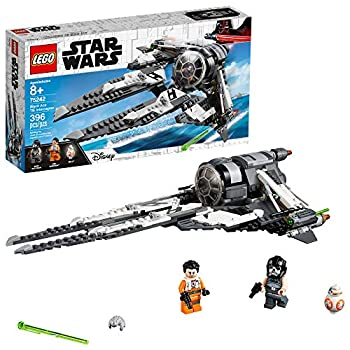 LEGO Star Wars Resistance Black Ace TIE Interceptor 75242 Building Kit  396 Pieces