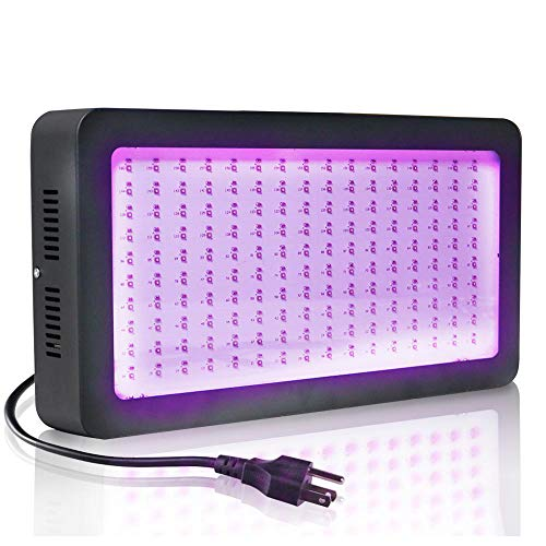 UV Sterilization Lamp YNDHD 3D Printer Led Uv Gel Curing Lamp 1s Glue Dried Printing Ink Paint Silk Screen Version Ultraviolet 400 * 60 * 212 mm Black