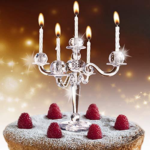 MostroMania - Candeliere per Torte - Candelabro - Decorazione per Dolci - Portacandele - Accessori Cucina - Torte di Compleanno - Gadget per Feste - Idee Regalo Originali