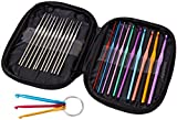 Crochet Hook Set 22+3 Pack – Multicolor - Knitting Needles Sets (Crochet Hooks)