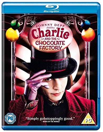 Charlie and The Chocolate Factory [Blu-ray] [UK Import]