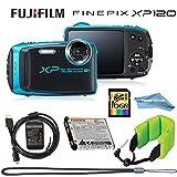 Fujifilm FinePix XP120 Compact Rugged Waterproof Digital Camera -...