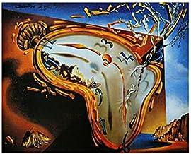 1art1 Salvador Dali - Les Montres Molles Póster Impresión Artística (80 x 60cm)