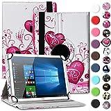 Nauci Tablet Hülle für Xido Z120 Z110 X111 X110 Tasche Schutzhülle Case Cover aus Kunstleder Standfunktion 360° Drehbar, Farben:Motiv 5