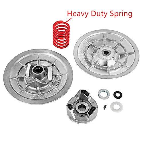 Tuntrol Secondary Driven Clutch with Heavy Duty Spring for Yamaha Golf Cart G2-G22 1985-2007 (with Spring)