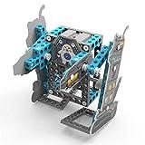 YMMONLIA Bloque de Construcción de Ciencia Y educación, Robot Bípedo Juguetes de Construcción de Ciencia de Aprendizaje de Bricolaje Kit de Ciencia 8-12 Juguetes Eléctricos Educativos para Niños