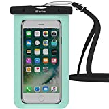Waterproof Case,1 Pack iBarbe Universal Cell Phone Dry Bag Pouch Underwater Cover for Apple iPhone X 8 Plus 7 7 Plus 6S 6 6S Plus SE Samsung Galaxy Note s9 s s8 LUS S7 S6 Edge etc.to 5.7 inch,Teal