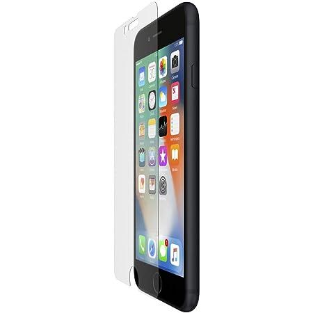 Belkin ScreenForce InvisiGlass Ultra - Protector de pantalla con Corning Glass y refuerzo por intercambio iónico para iPhone 8 Plus y iPhone 7 Plus, transparente