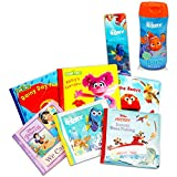 Baby Ultimate Bubble Bath Book Set Bundle for Toddler Kids -- 6 Books with Finding Dory Bubble Bath and Stickers (Sesame Street and Disney Bath Time Storybooks)