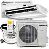 PIONEER Air Conditioner UYB024GMFILCAD Pioner Floor, Ceiling Split Ductless Inverter and Heat Pump System Set, 24000 BTU, 24, 000 BTU, 208-230 V