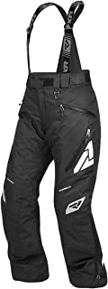 FXR Racing F19 Vertical Pro Insulated Womens Snowmobile Pants - Black - 2