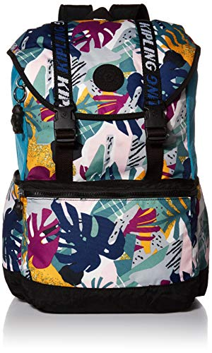 Kipling Experience 15' Laptop Backpack, Active Jungle Block