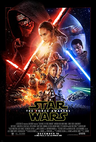 Star Wars The Force Awakens One Sheet Movie Poster 24x36 inch