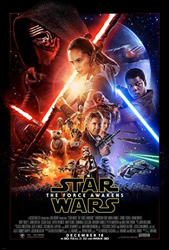 Best force awakens poster 24 36 for 2020