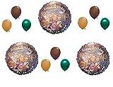 Globos de camuflaje para fiestas de cumpleaños de caza de ciervos
