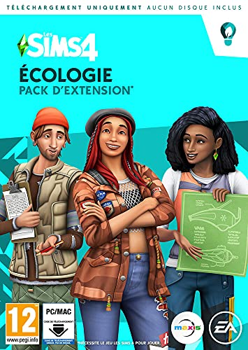 Les Sims 4 - Pack d'Extension Ecologie Standard (PC)