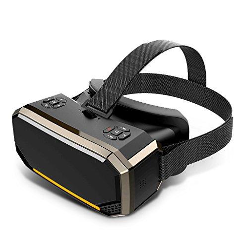 Sharp 2K-pantalla VR una máquina Realidad virtual gafas inteligentes HD 3D teatro auriculares PC juego de conexión de casco de la computadora Nine Axis sensor controlador del juego