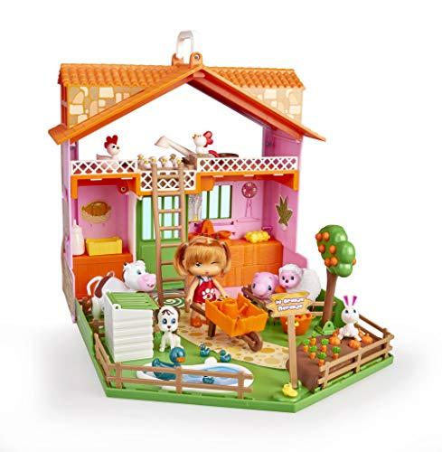 Barriguitas - Granja Naranja, para Niños Y Niñas de 4 a 8 Años, Multicolor (Famosa 700008711)