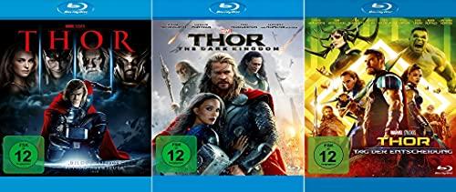 Marvel Studios Bundle - Thor + Dark Kingdom + Tag der Entscheidung [3-Blu-ray]