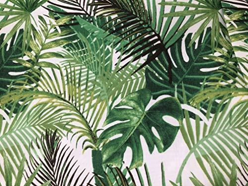 Les Jolie tafelkleed, rechthoekig, Provençal, 145 x 240 cm, 100% vuilafstotend, plantaardig groen, keuken, woonkamer, eetkamer, modern design