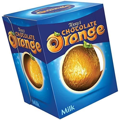 Terry's Chocolate Orange-Orange Flavored Milk Chocolate Ball, 157g (2 Pack)