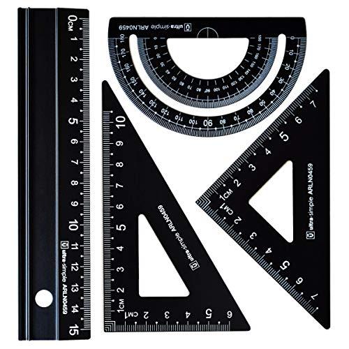 3010-9 Alumicolor Pocket Architect Scale 6 Black