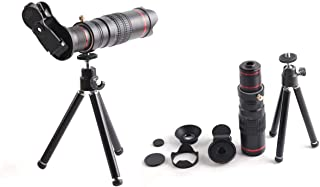 22X Universal Telephoto Lens Mobile Phone Optical Zoom Telescope Camera with Tripod For smartPhone