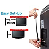 FastSun Clear TV Key HDTV FREE TV Digital Indoor Antenna Ditch Cable As Seen on TV