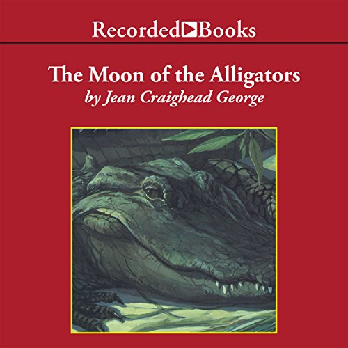 The Moon of the Alligators audiobook cover art