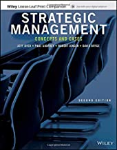 Strategic Management, Loose-Leaf Print Companion: Concepts and Cases