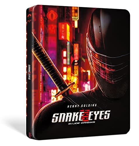 Snake Eyes: G.I. Joe - Le Origini (Steelbook 4K UHD + Blu-ray) (Limited Edition) (2 Blu Ray)