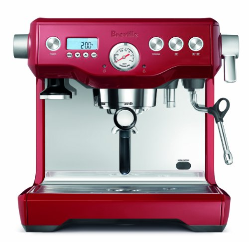 Great Price! Breville BES920CBXL Dual Boiler Espresso Machine, Cranberry Red